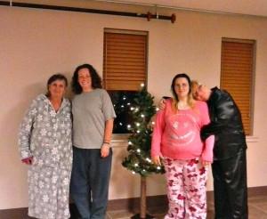 guests at HPC homeless shelter