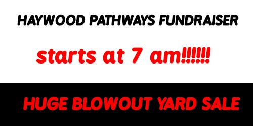 Blowout Yard Sale Waynesville