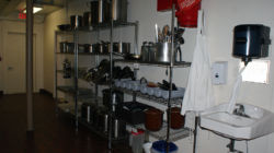 Kitchen at Haywood Pathways Center